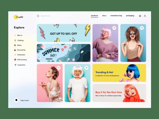 Figma Wigs - Ecommerce Website