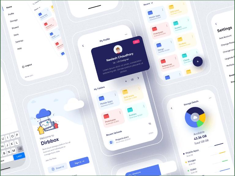 Figma Online Cloud Storage